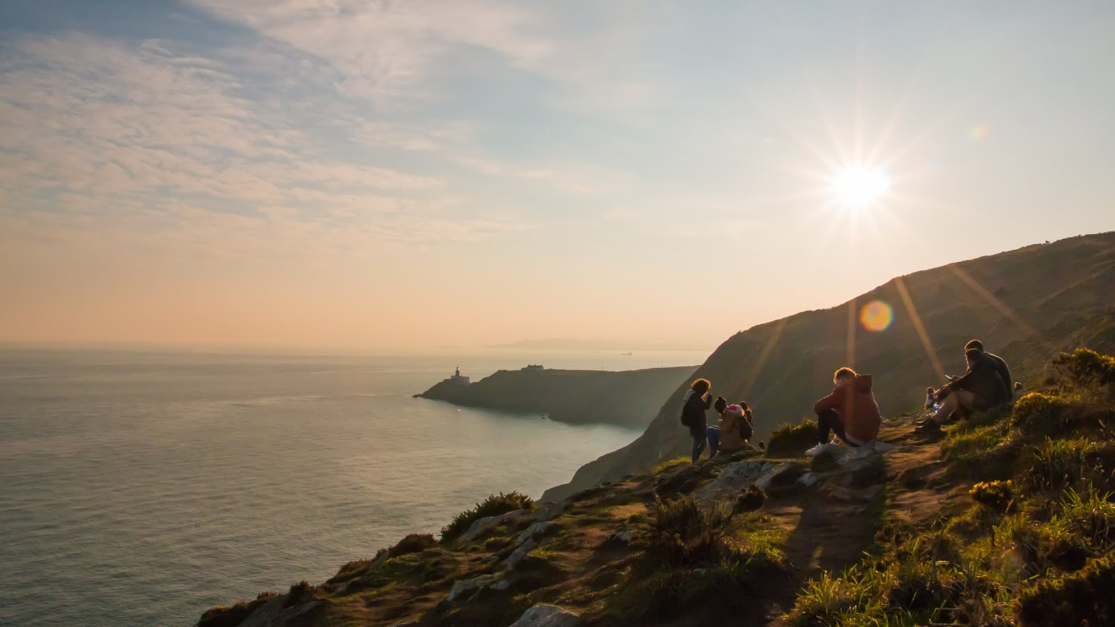 Discovering the Irish countryside on the Howth Tour