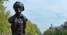 Multatuli Statue Amsterdam