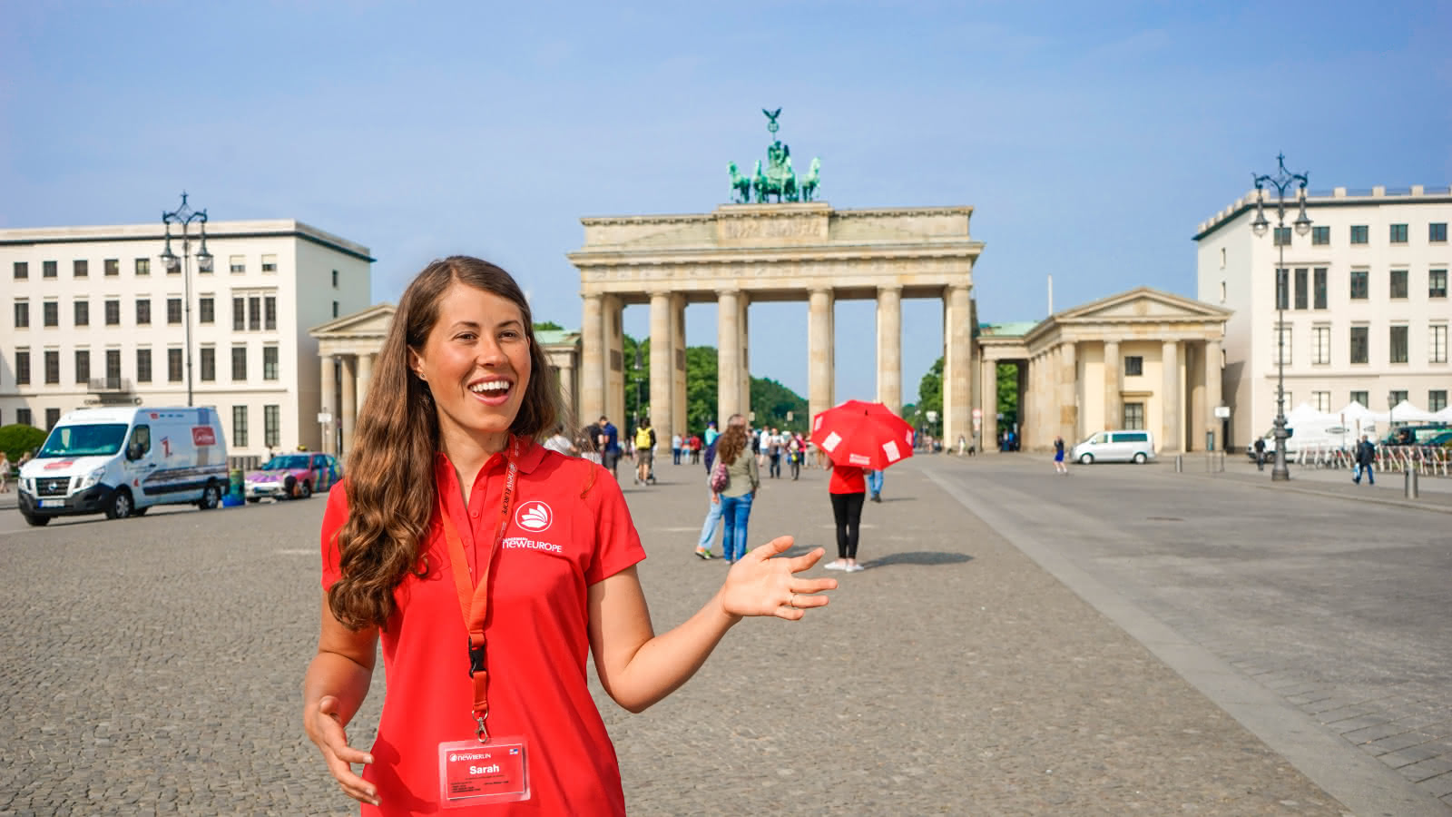 Berlin Local Guide at the Brandenburg Gate