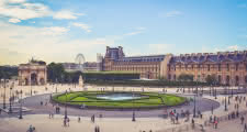 tuileries gardens louvre paris