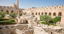 Barrio armenio de la ciudad vieja de jerusalén