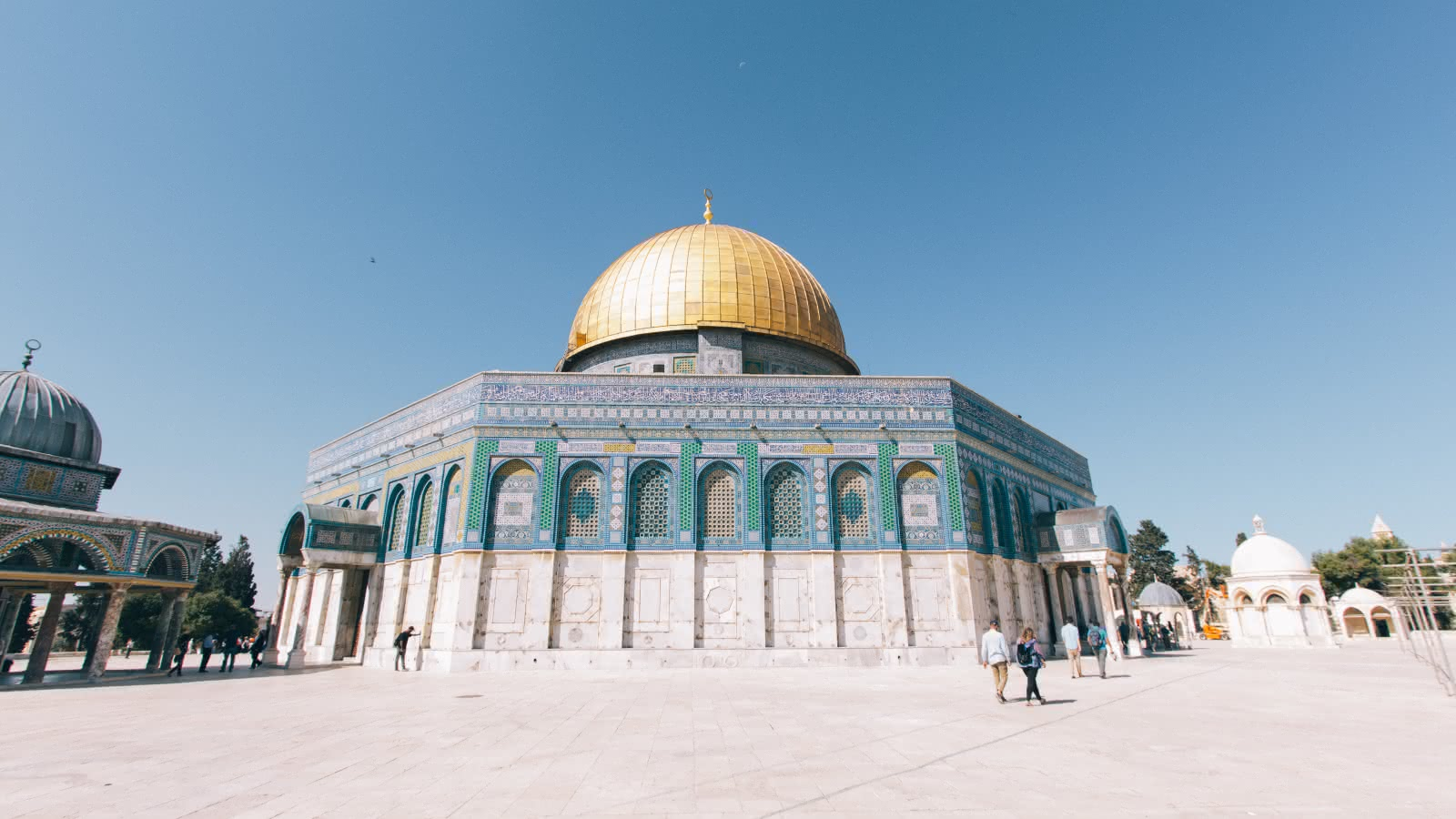 The Dome of the Rock in Jerusalem visited during the SANDEMANs Holy City Tour