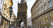 The Powder Tower in Prague