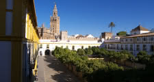 Patio de Banderas in Seville