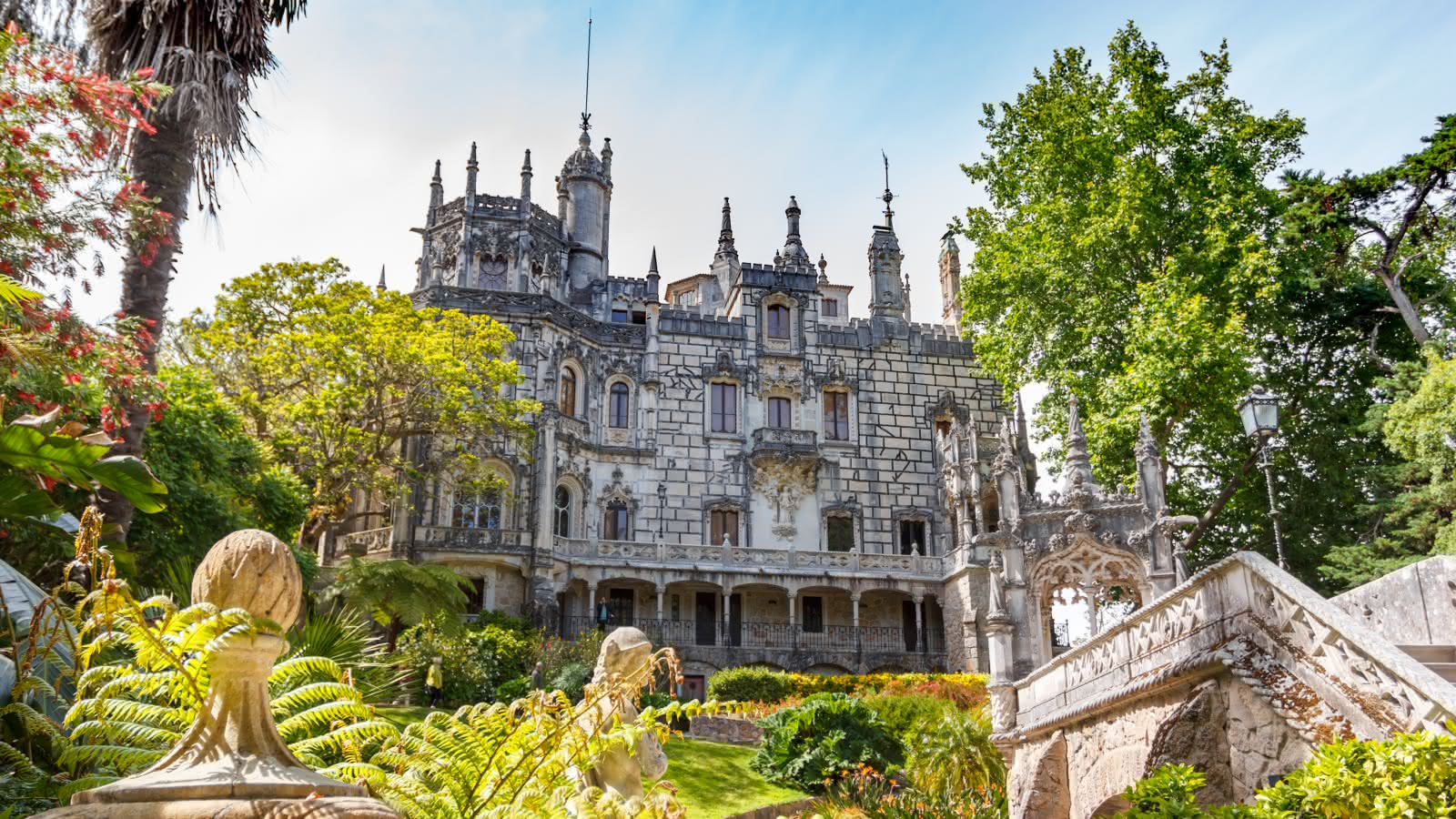 Visiting Quinta da Regaleira Castle with SANDEMANs Tours