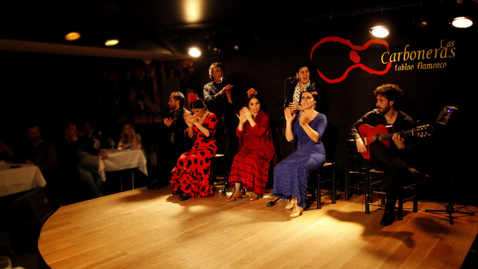 Las Carboneras tablao Flamenco in Madrid