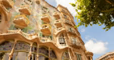 visiting casa batllo during the barcelona gaudi tour