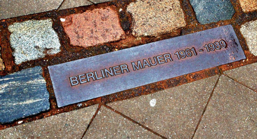Berlin Wall Line