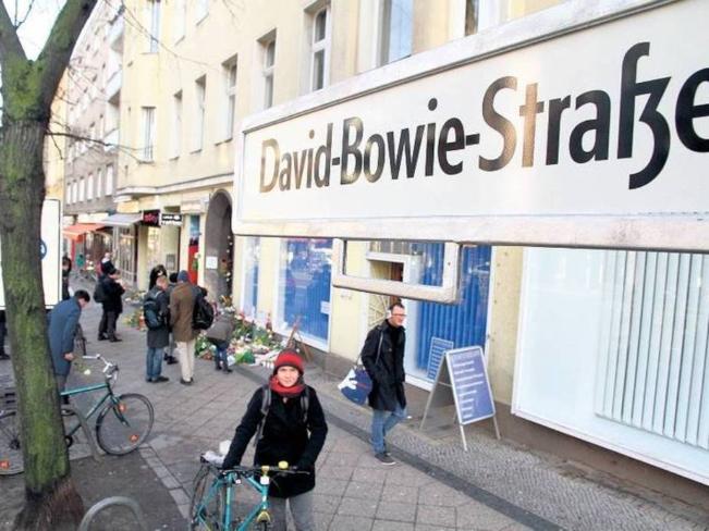 David Bowie Strasse