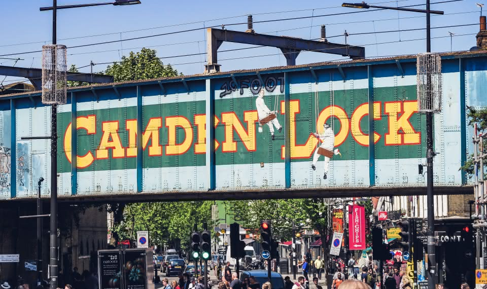 Camden Market things to do in london
