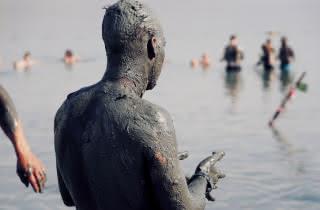 dead sea masada mud