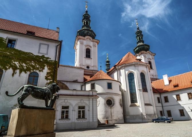 PRG Strathov Monastery