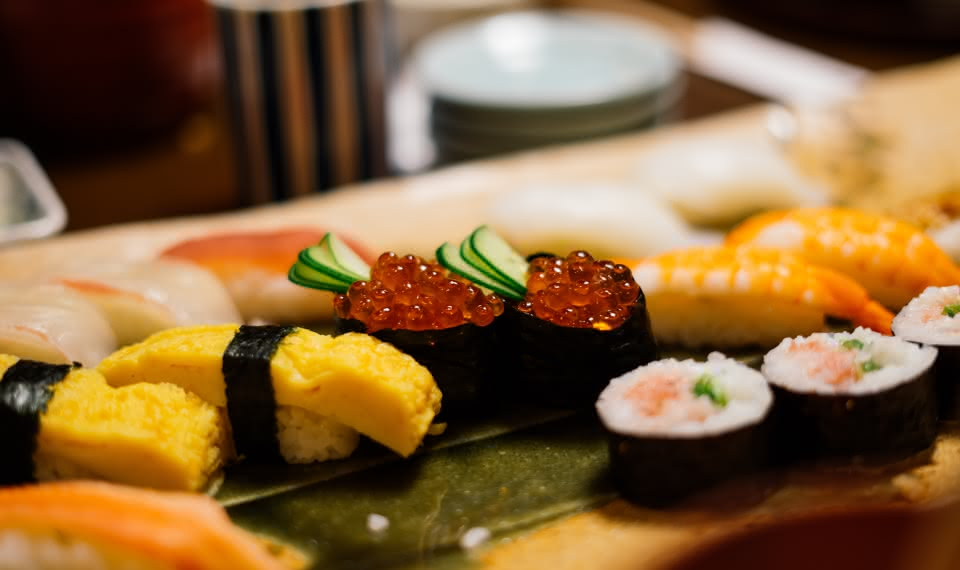 sandemans travel guides where to eat sushi
