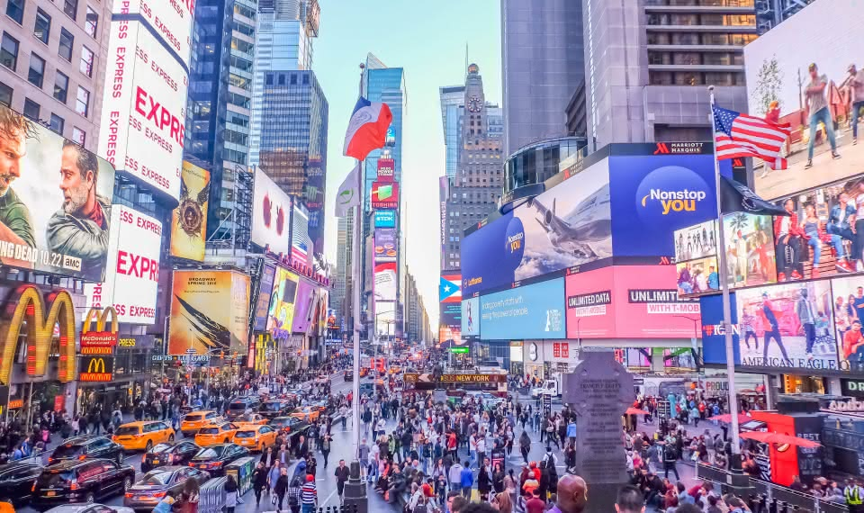 things to do new york travel guide Times Square