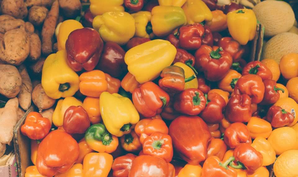 Mediterranean Fruits and Vegetables Tel Aviv Market