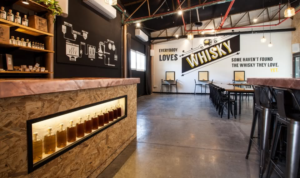 The Milk and Honey Whisky Distillery: Tour and Tastings
