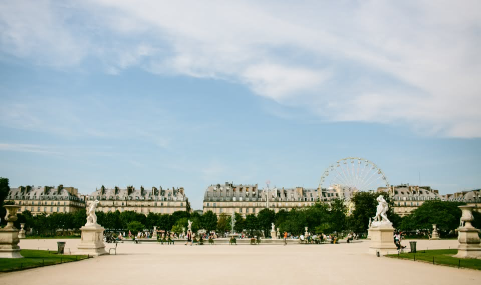paris things to do Tuileries Garden