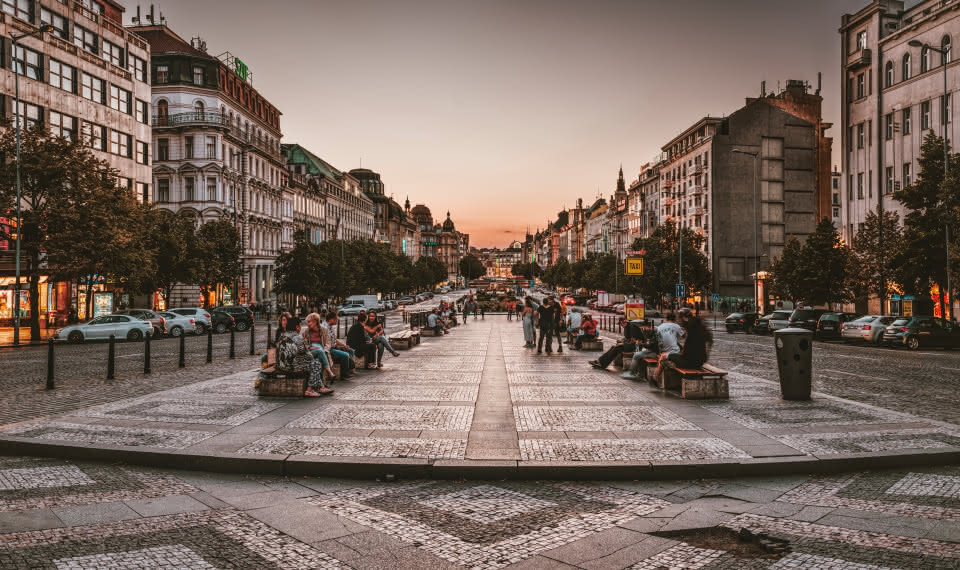 Wenceslas Square things to do prague