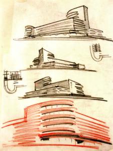 bauhaus tel aviv sketch