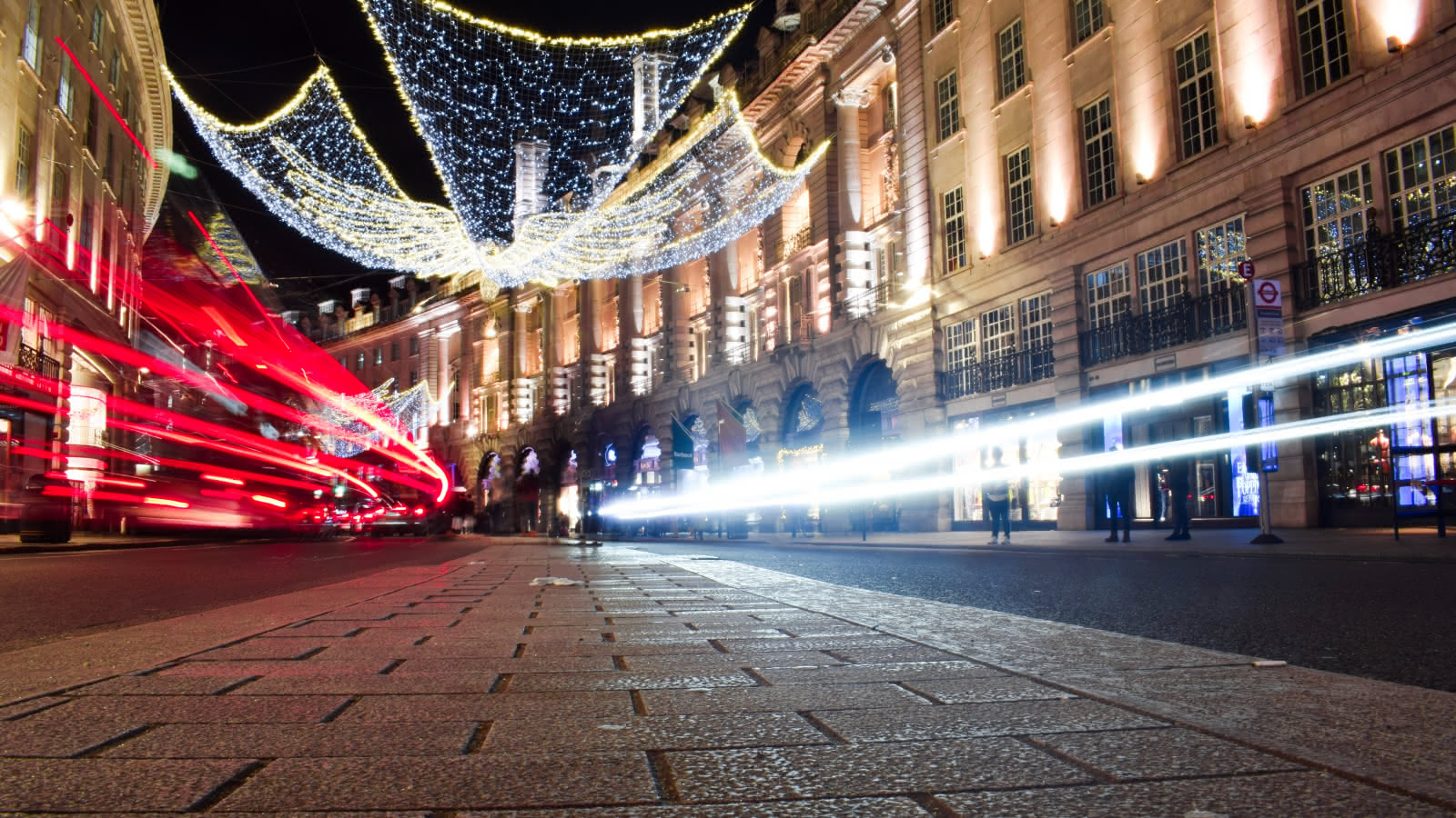 christmas lights central london