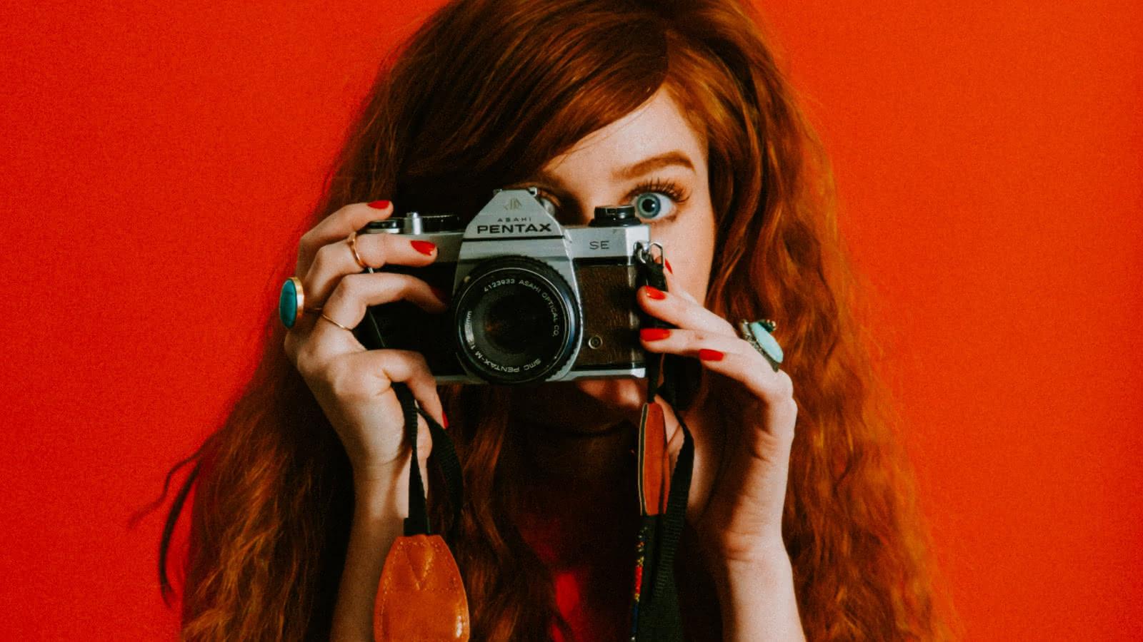influencer blogger photograph